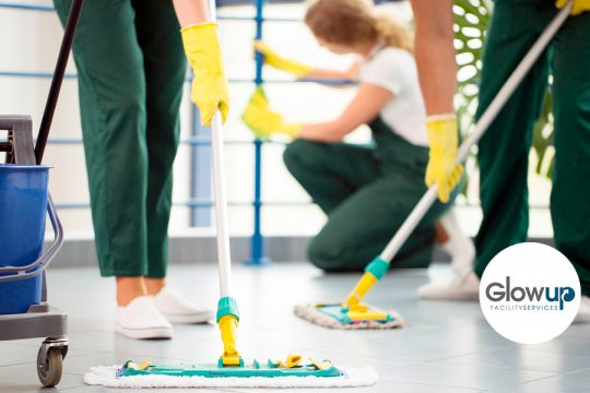 GlowUp - que es la limpieza de mantenimiento